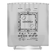 Monopoly Patent 1935 Shower Curtain