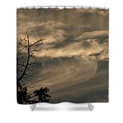 Monster Wave Shower Curtain