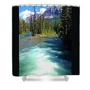 Montana River Shower Curtain