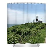Montauk Summer  Shower Curtain