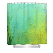 Morning Blue 2 Shower Curtain