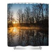 Morning Burn Shower Curtain