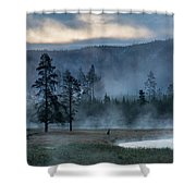 Morning Shower Curtain