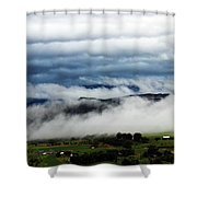Morning Fog 2 Shower Curtain