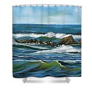 Morning Rush Shower Curtain