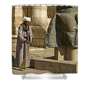 Mortuary Temple Of Rameses II Shower Curtain
