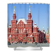Moscow's State Historical Museum  Shower Curtain