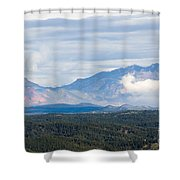 Mosquito Range Mountains In Storm Clouds Shower Curtain