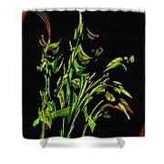 Motif Japonica No. 5 Shower Curtain