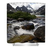 Mount Assiniboine Canada 17 Shower Curtain
