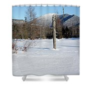 Mount Carrigain - White Mountains New Hampshire Usa Shower Curtain