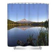Mount Hood At Trillium Lake Shower Curtain