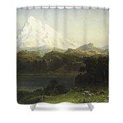 Mount Hood In Oregon Shower Curtain