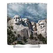 Mount Rushmore II Shower Curtain