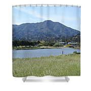 Mount Tamalpais Shower Curtain