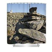 Mount Washington State Park - White Mountains New Hampshire Usa Shower Curtain