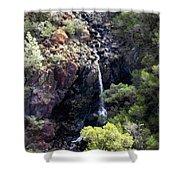 Mountain Cascade Shower Curtain