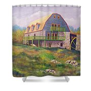 Mountain Mill Shower Curtain