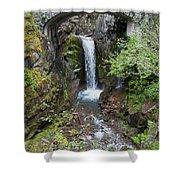 Mountain Waterfall Shower Curtain