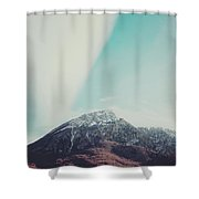 Mountains In The Background Xiii Shower Curtain