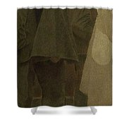 Mouthful Of Bread. Sketches Shower Curtain