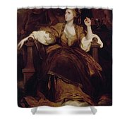 Mrs. Siddons As The Tragic Muse Shower Curtain