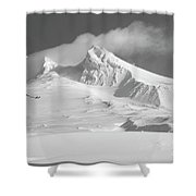 Mt. Hood In Winter Shower Curtain