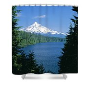 Mt. Hood National Forest Shower Curtain