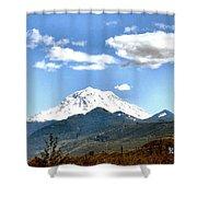 Mt Rainier Washington Shower Curtain