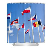 Musee Du Debarquement D-day Museum Shower Curtain