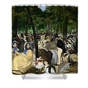 Music In The Tuileries Shower Curtain
