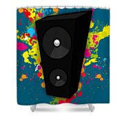 Musical Shower Curtain