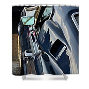 Mustang Shelby Details Shower Curtain