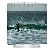 My Wave Shower Curtain