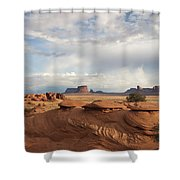 Mystery Valley View 7496 Shower Curtain