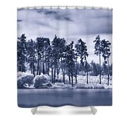 Mystic Parallel World Shower Curtain
