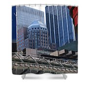 N Y C Architecture Shower Curtain