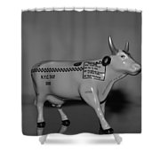 N Y C Taxi Cow Shower Curtain