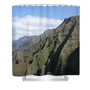 Na Pali Coast Shower Curtain
