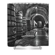 Napa Valley Wine Cellar Shower Curtain