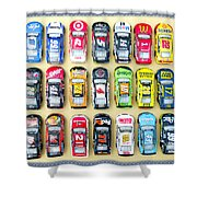Nascar Collection Shower Curtain