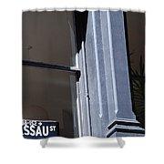 Nassau Street Shower Curtain