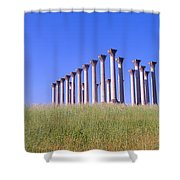 National Capitol Columns, National Shower Curtain