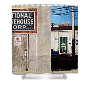 National Warehouse Corp Shower Curtain