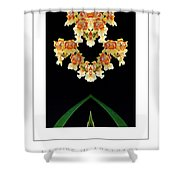 Nature In Abstract Orchidaceae Shower Curtain