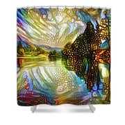 Nature Reflections Shower Curtain