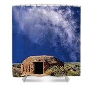 Navajo Hogan Shower Curtain
