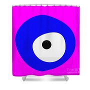 Nazar - Evil Eye Shower Curtain