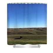 Nebraska Sandhills Shower Curtain