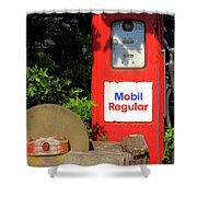 Need Gas? Shower Curtain